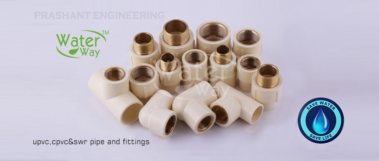 Waterway CPVC Brass Pipe Fittings Suppplier