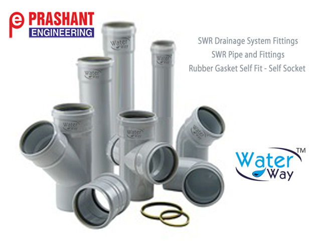 SWR Pipe - PVC SWR Pipe for  SWR Drainage System - Water Pipeline Manufcturers