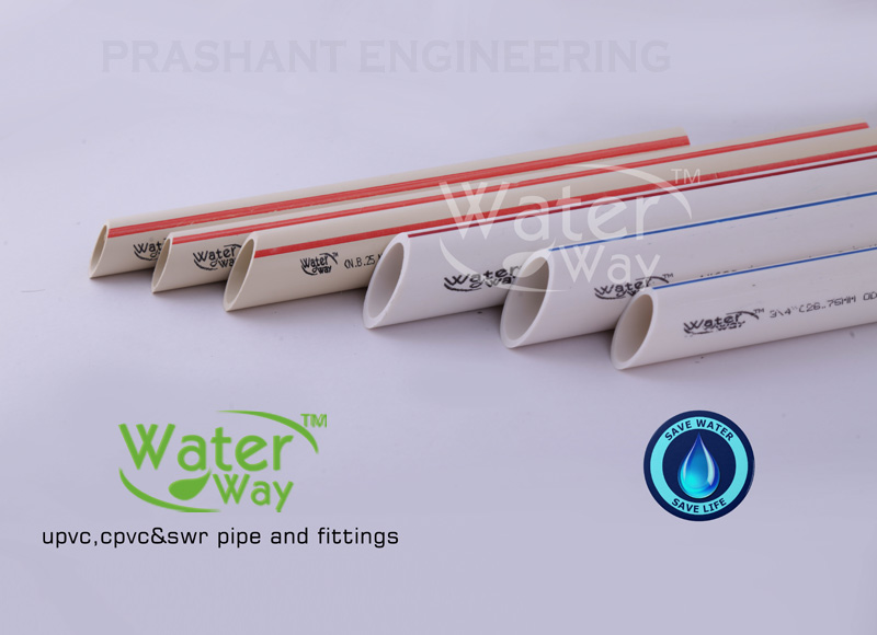 UPVC And CPVC Pipe Hot-Cold Water Pipeline