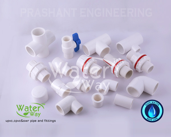 UPVC Pipe Fittings for Tee Elbow MTA FTA  Reducer Coupler Pipeline - Plumbing Fittings